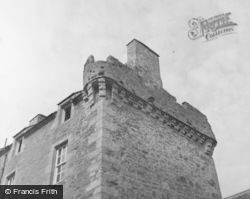 Strathendry Castle, Tower Showing Masonry Difference 1953, Glenrothes