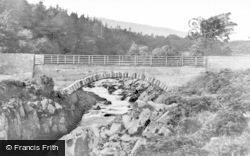 Glentrool, Minnoch Bridge c.1935, Glentrool Village