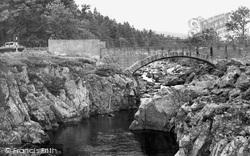 Glentrool, Minnoch Bridge c.1955, Glentrool Village