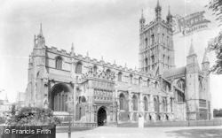 Gloucester, Cathedral 1900