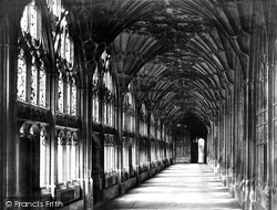 Gloucester, Cathedral Cloisters c.1869