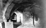 Gloucester, Cathedral Crypt 1891
