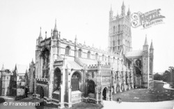 Gloucester, Cathedral From S.W. c.1890