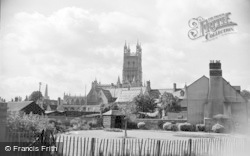 Gloucester, Cathedral From St Catherine Street 1950