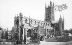 Gloucester, Cathedral, From The South West 1893