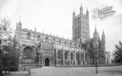 Gloucester, Cathedral, From The South West 1912