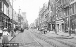 Gloucester, Eastgate Street 1912