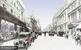 Gloucester, Eastgate Street 1931