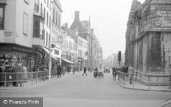 Gloucester, Eastgate Street 1949