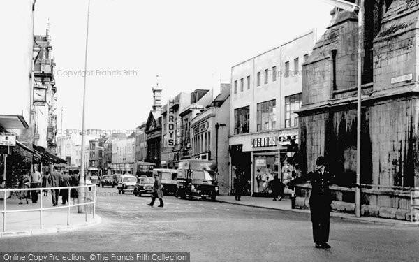 Gloucester, Eastgate Street c1960