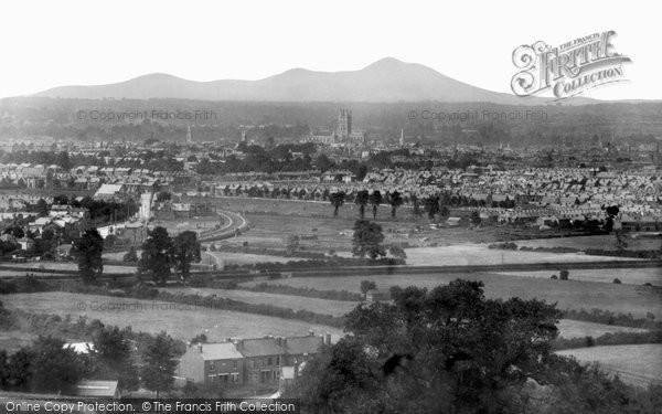 Gloucester, from Robinswood Hill 1904