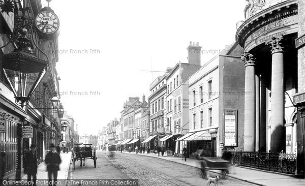 Gloucester, Southgate Street 1891