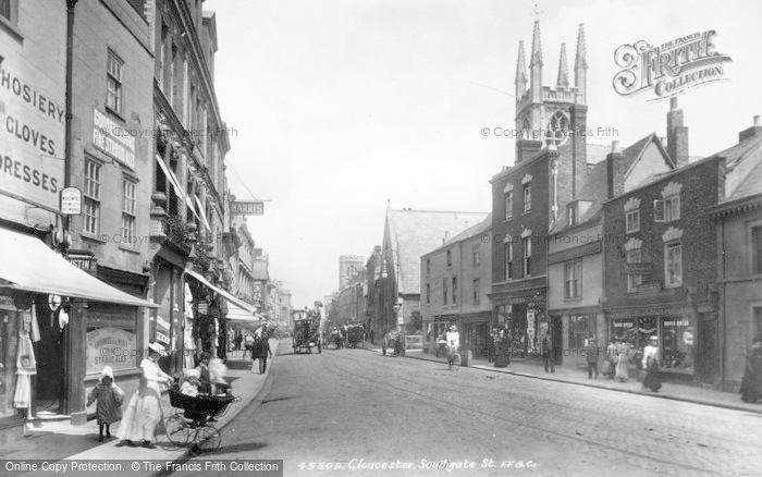 Photo of Gloucester, Southgate Street 1900