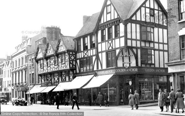 Gloucester, Southgate Street, the Golden Anchor 1949