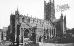 Gloucester, The Cathedral 1891