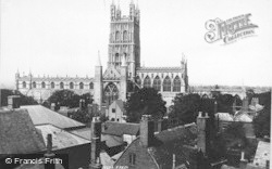 Gloucester, The Cathedral 1893