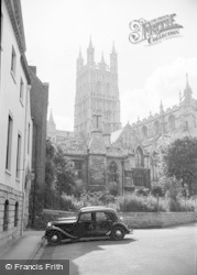 Gloucester, The Cathedral 1950