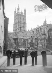 Gloucester, The Cathedral, From The Cloisters 1949