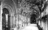Gloucester, the Cathedral, the Cloisters 1891
