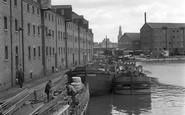 Gloucester, the Docks 1950