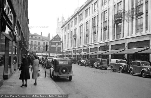 Photo of Gloucester, The Oxbode 1949