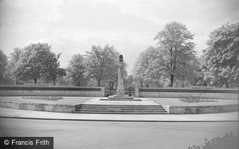 Gloucester, the War Memorial 1949