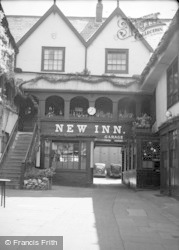 Gloucester, The Yard Of The New Inn, Northgate Street 1949