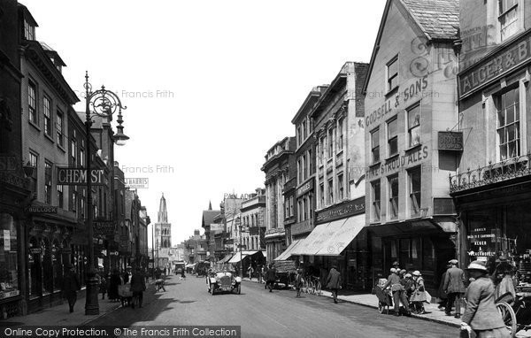 Photo of Gloucester, Westgate Street 1923