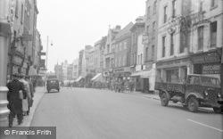 Gloucester, Westgate Street 1949