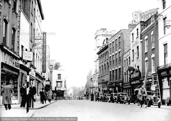 Gloucester, Westgate Street 1948