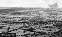 Glusburn, From Sutton Pinnacle c.1960