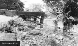 Glusburn, The 1900 Bridge c.1960