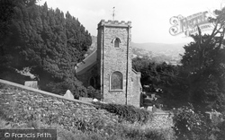 Church Of St Ffraid c.1955, Glyn Ceiriog