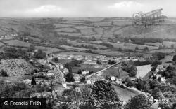 General View c.1955, Glyn Ceiriog