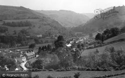 General View Looking South c.1950, Glyn Ceiriog