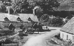 Horse And Cart At Castle Mill c.1939, Glyn Ceiriog