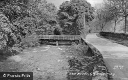 The River c.1955, Glyn Ceiriog