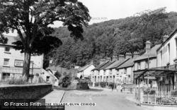 The Village c.1955, Glyn Ceiriog