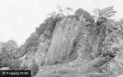 Glyn Neath, Dinas Rock c.1955