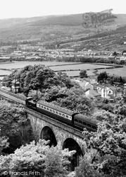 Glyn Neath, The Railway Viaduct c.1955