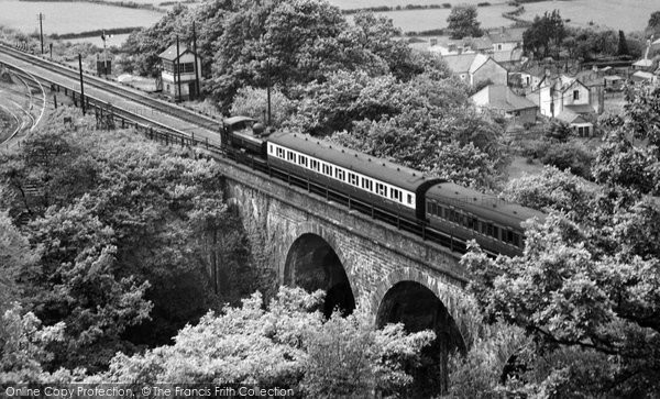 Photo of Glyn Neath, The Viaduct c.1955