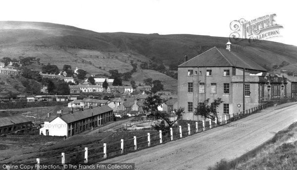 Photo of Glyncorrwg, the Town 1938
