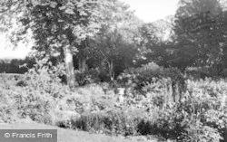 Glyndebourne, The Memorial Gardens c.1950