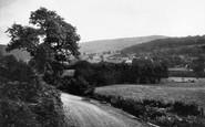 Glyndyfrdwy, General View and Berwyn Mountain c1955