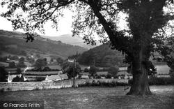 Glyndyfrdwy, Moel Morfydd From Holyhead Road c.1955