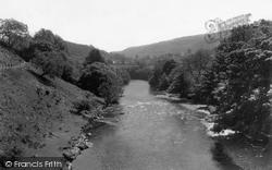 Glyndyfrdwy, The Dee c.1955