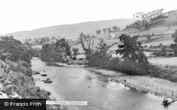 Glyndyfrdwy, The River c.1965