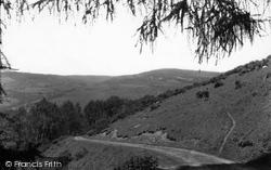 Glyndyfrdwy, The Road Up The Valley c.1955