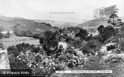 Glyndyfrdwy, The View From The Berwyn Arms Hotel  c.1965