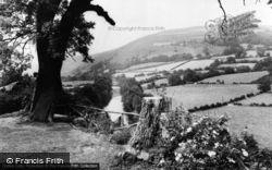 Glyndyfrdwy, View From The Berwyn Arms Hotel c.1965